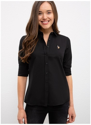 U.S. Polo Assn. U.S. Polo Assn.  Siyah Gömlek Siyah